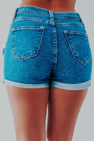 Let's Go Back Shorts: Denim