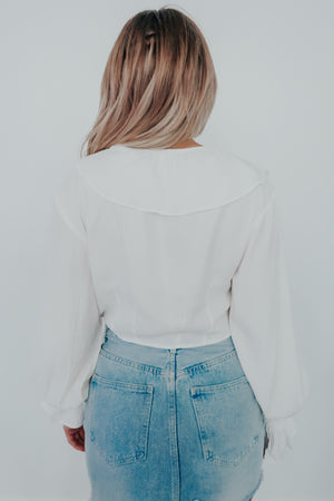 Forget The Past Top: White