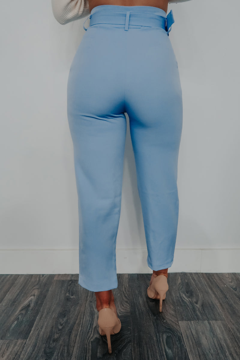 Count Me In Pants: Powder Blue