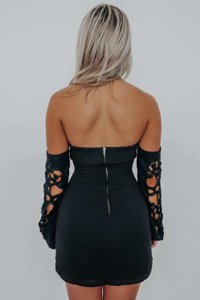 Date Night Dress: Black