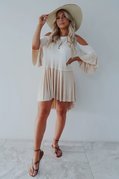 Your Promise Dress: Ivory/Sand