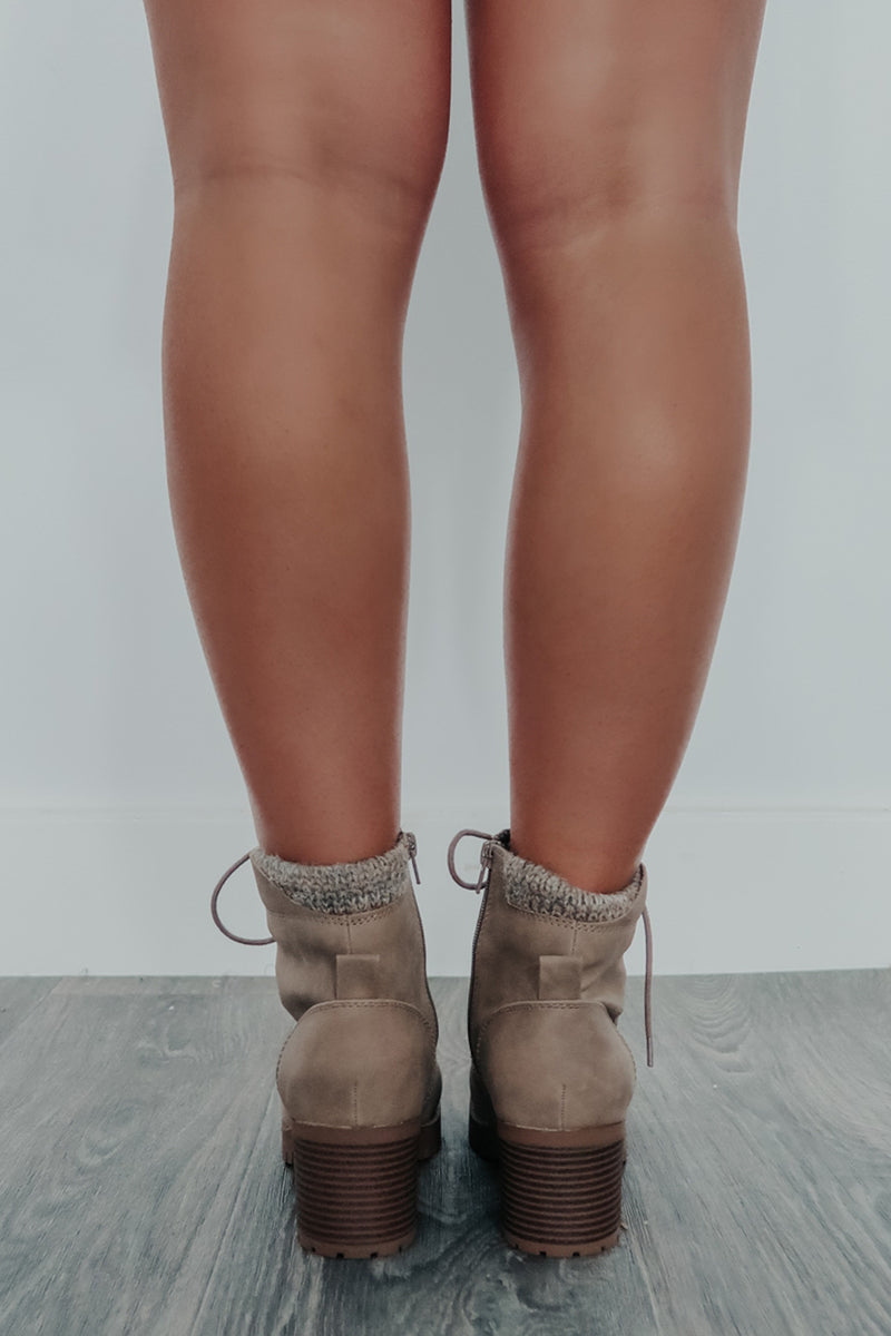 Make It Last Boots: Taupe