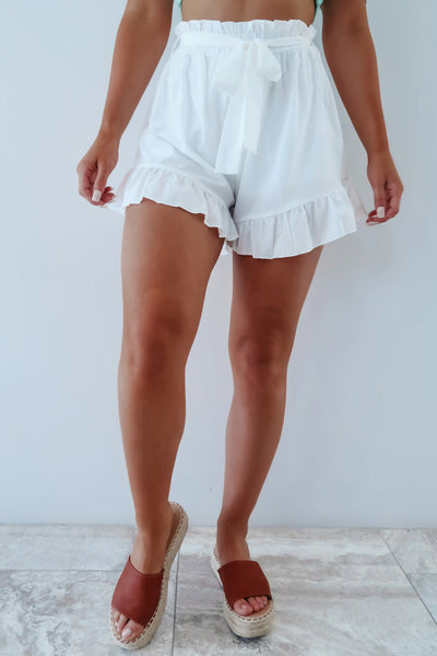 A New Vision Shorts: White