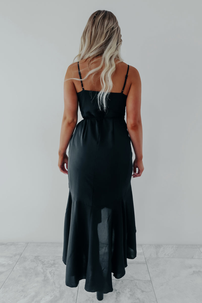 All You Need Dress: Black