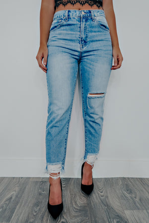 Better Late Than Never Jeans: Denim