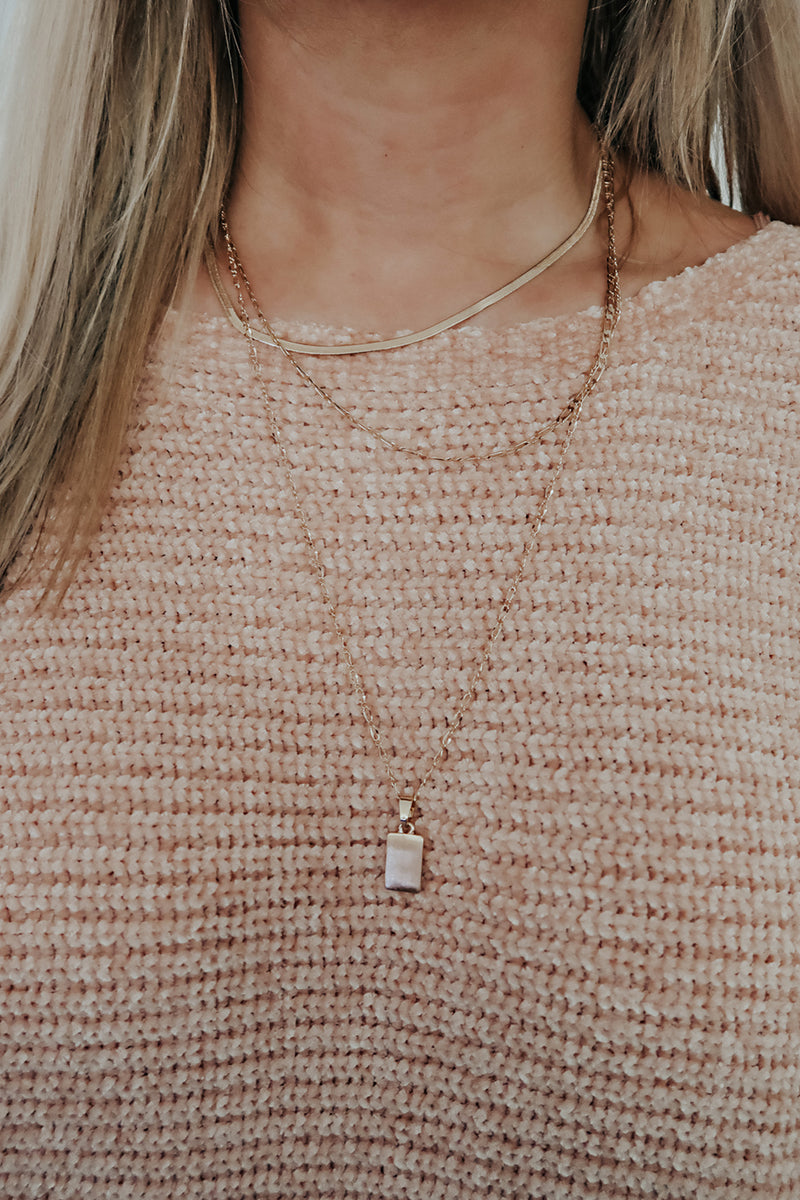 Make This Last Necklace: Gold