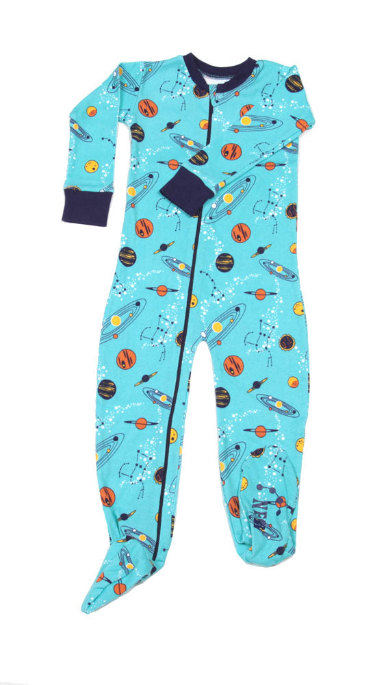 Solar System Toddler Footie