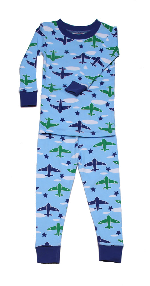 Airplanes Organic Pajamas