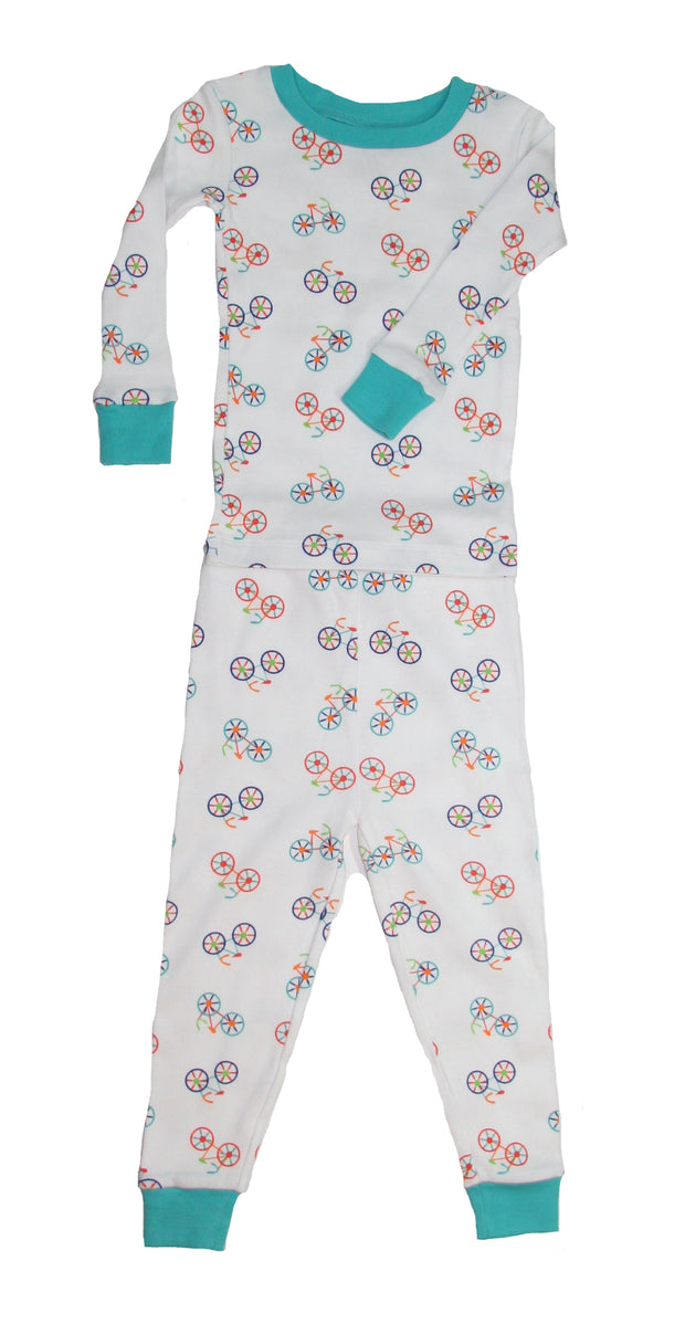 Bicycles Organic Cotton Pajamas