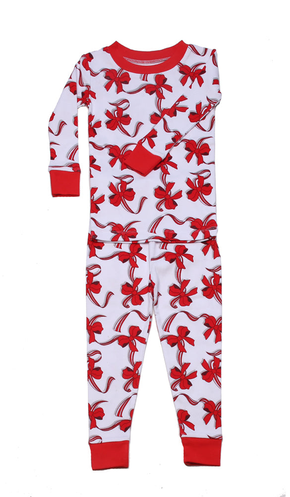 Ribbons and Bows Organic Pajamas