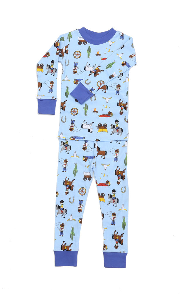 Ranching Cowboys Organic Cotton Pajamas