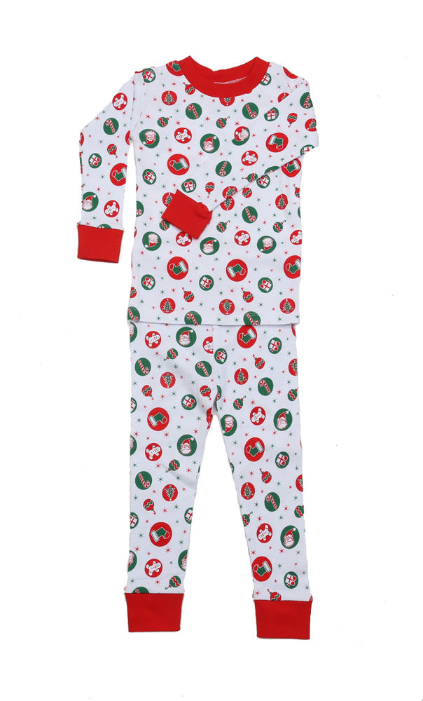 Retro Christmas Organic Pajamas