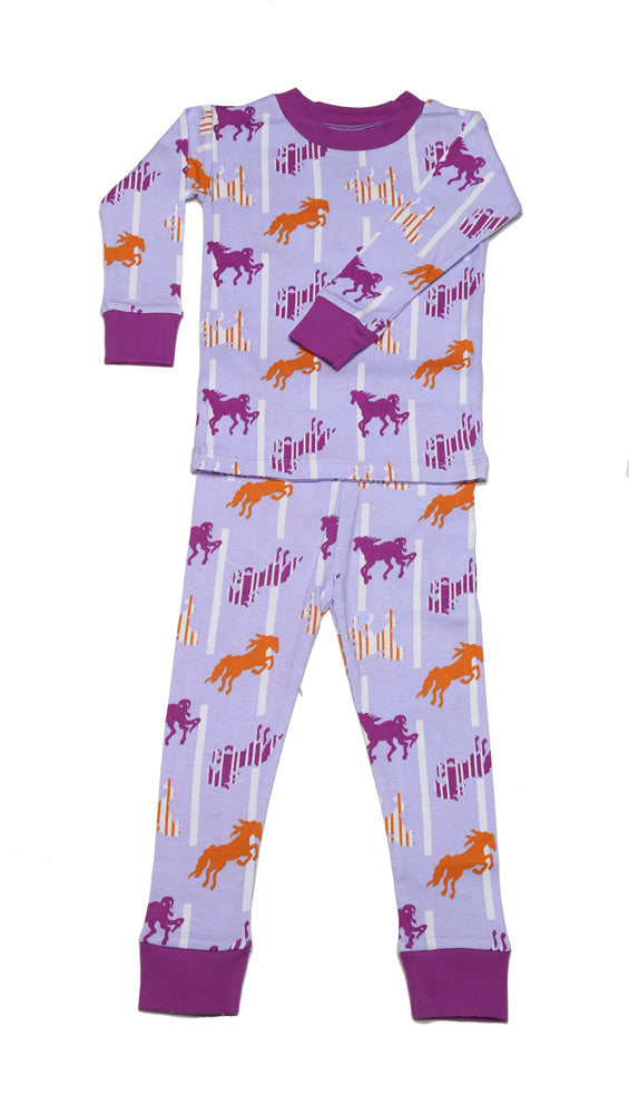 Horse N'Stripes Organic Cotton Pajamas