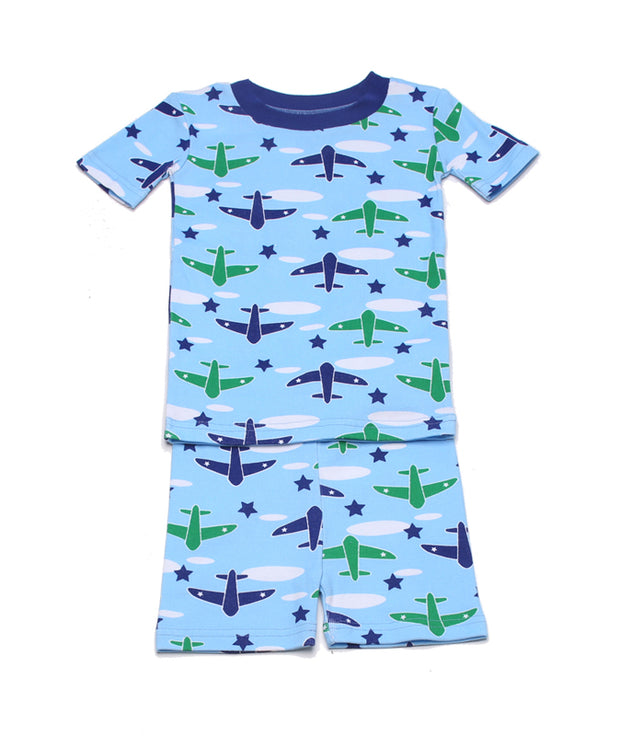 Airplane PJ Short Set