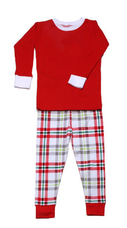 Winter Plaid PERSONALIZED PJ