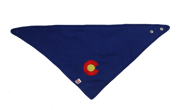 Colorado Love Organic Kerchief Bib