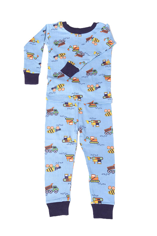 Construction Organic Cotton Pajamas