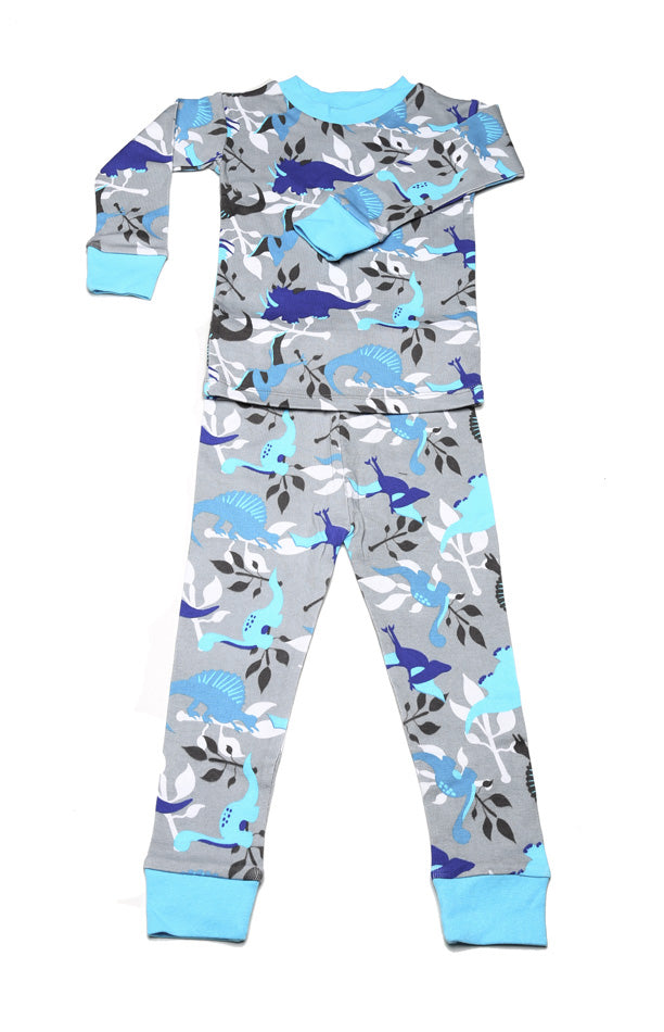 Dino Jungle Organic Cotton Pajamas