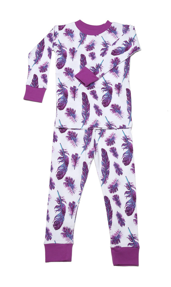 Feathers Organic Cotton Pajamas