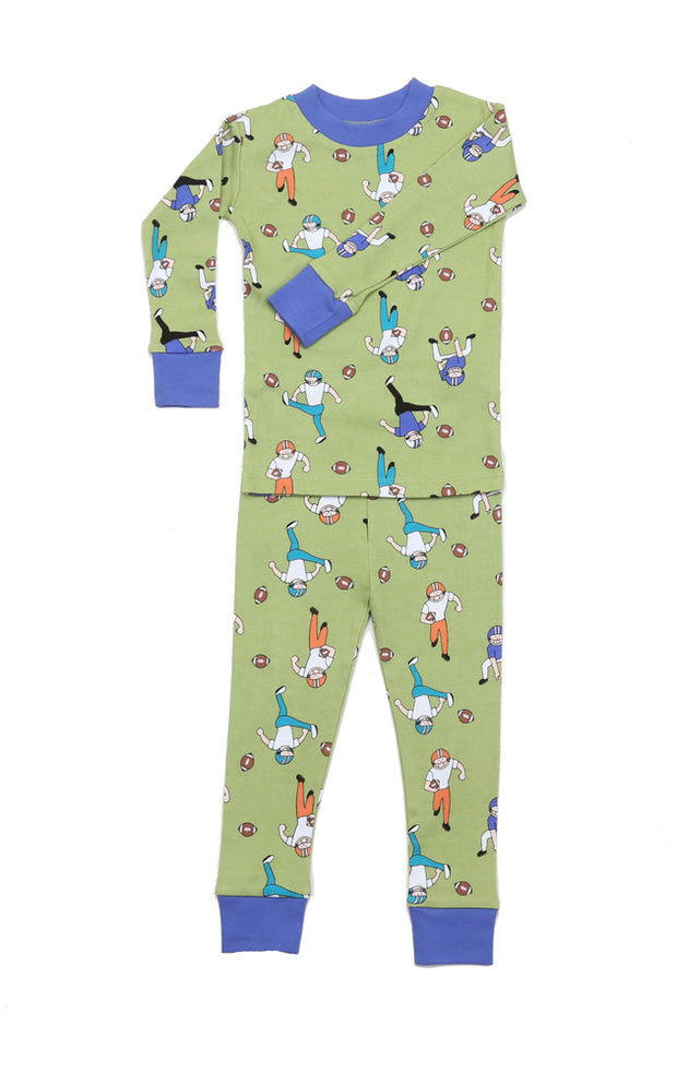 Football Tough Organic Cotton Pajamas