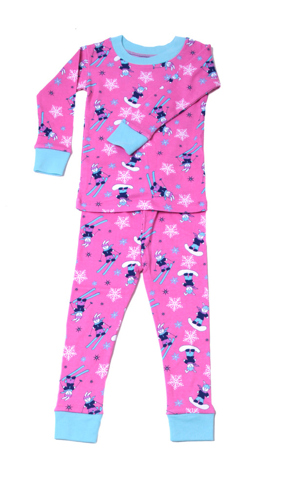 Ski Bunnies Pajamas