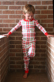 Winter Plaid Organic Pajamas