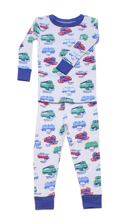 Locomotive Organic Pajamas