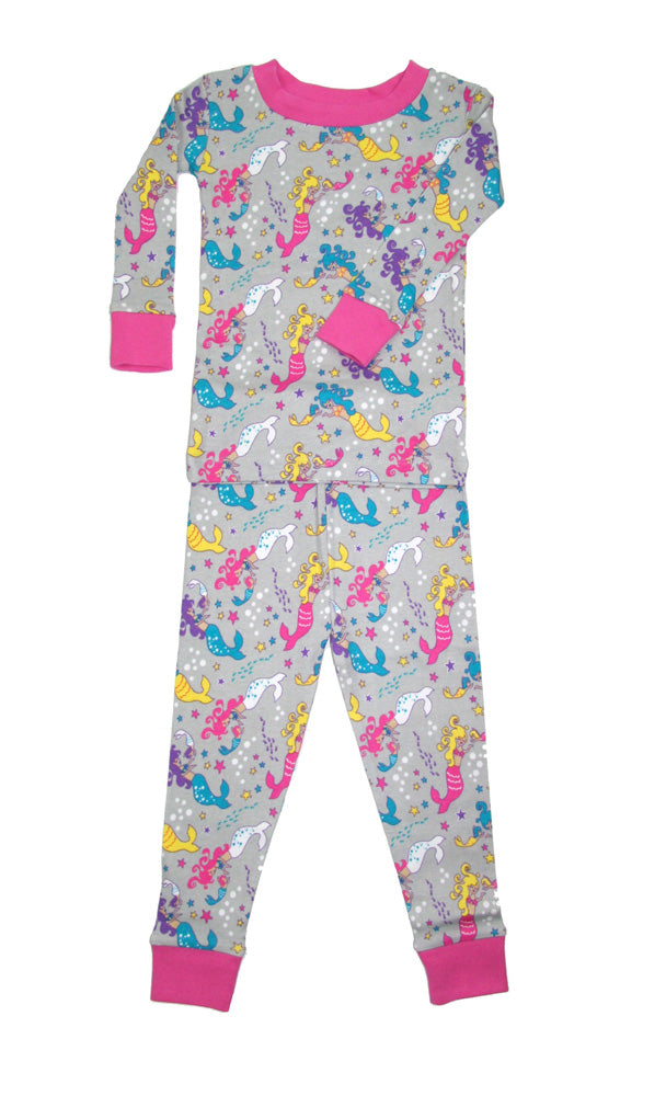 Mermaid Mamas Organic Cotton Pajamas