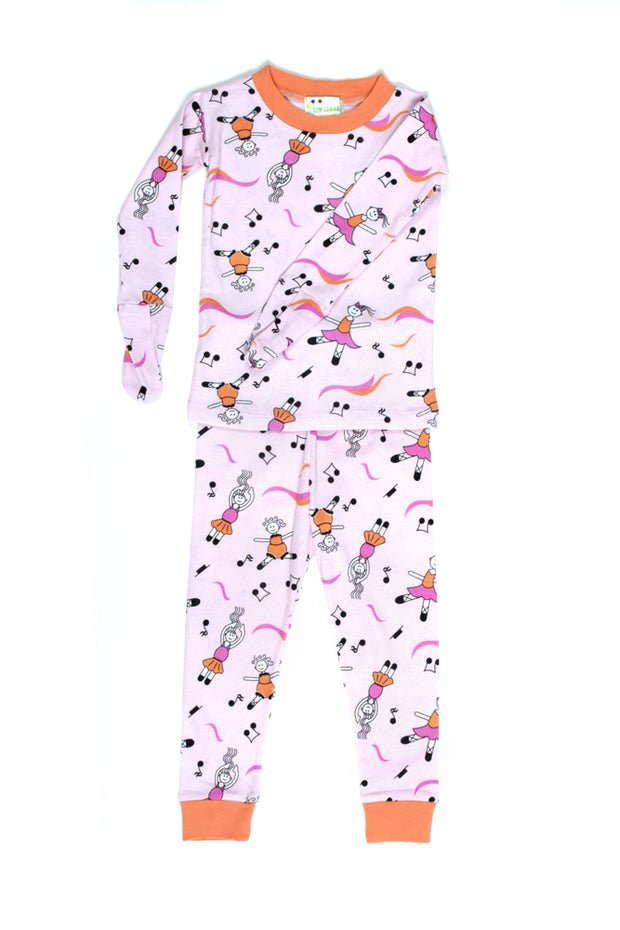 Mitted Pajamas Ballerinas