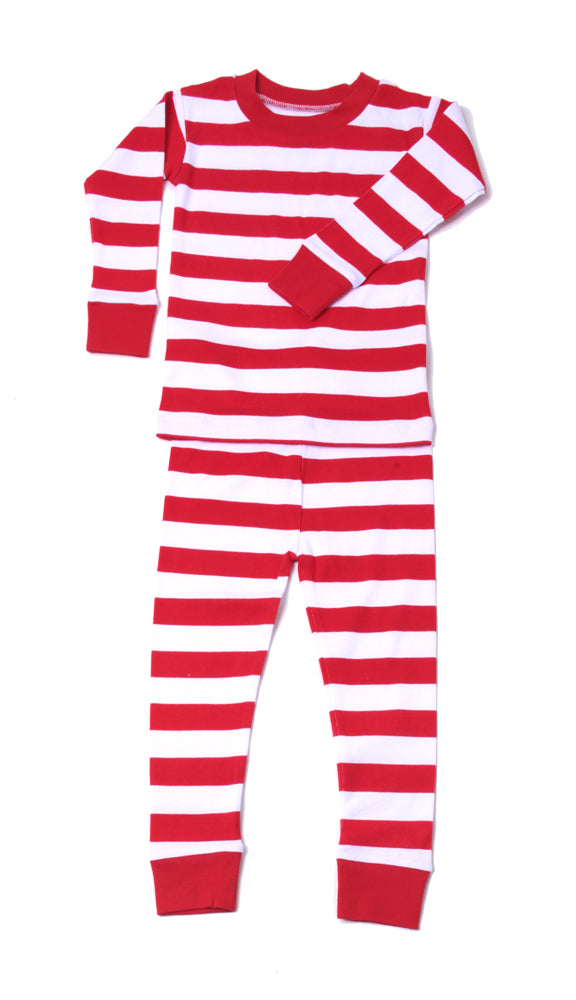 Classic Stripe PJ Red/Wh/Rd