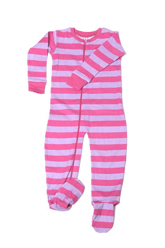 Classic Stripes Toddler Footie