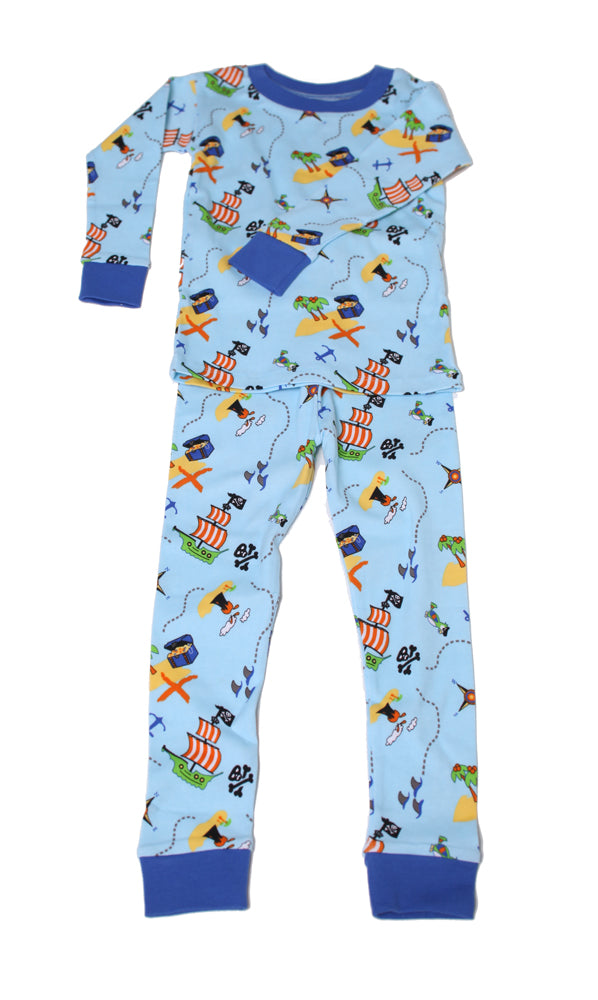 Pirate Treasure Map Organic Pajamas