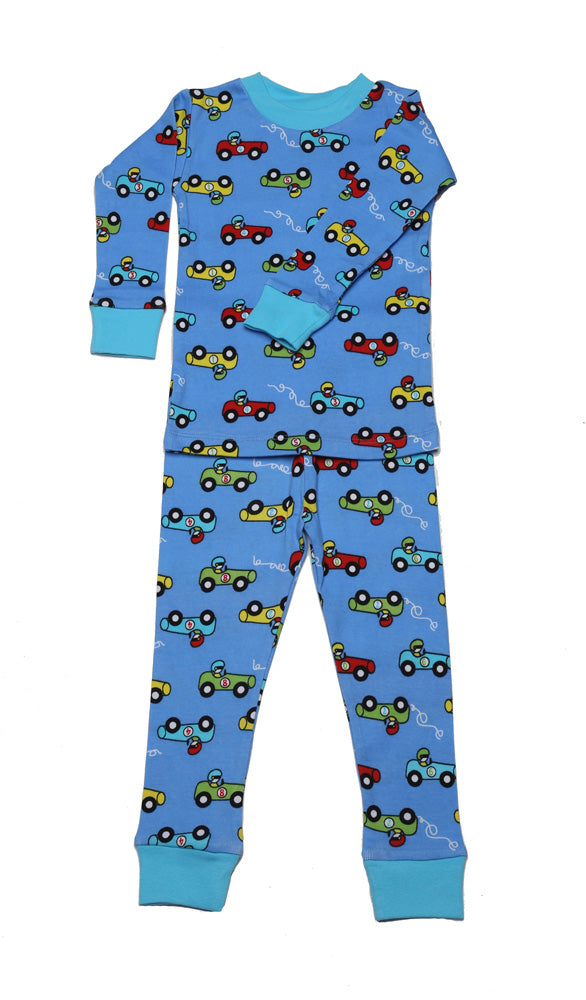 Racing Cars Organic Cotton Pajama