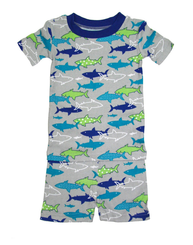 Shark PJ Short Set