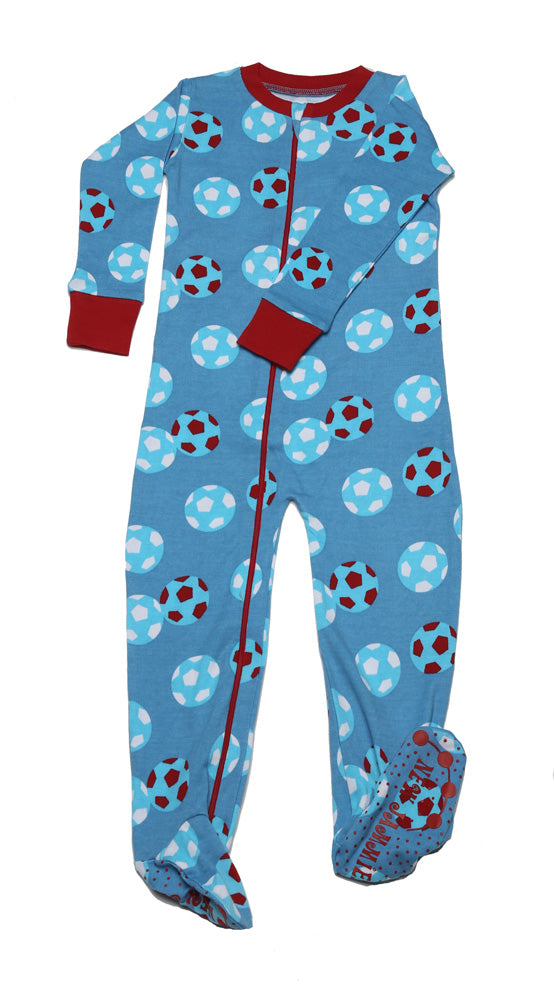 Soccer Balls Toddler Footie