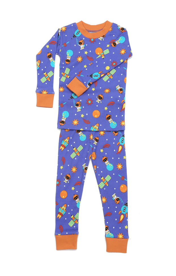 Space Cadets Organic Cotton Pajamas