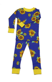 Sunflowers Organic Cotton Pajamas