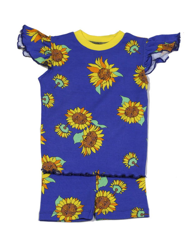 Sunflowers PJ Short Set