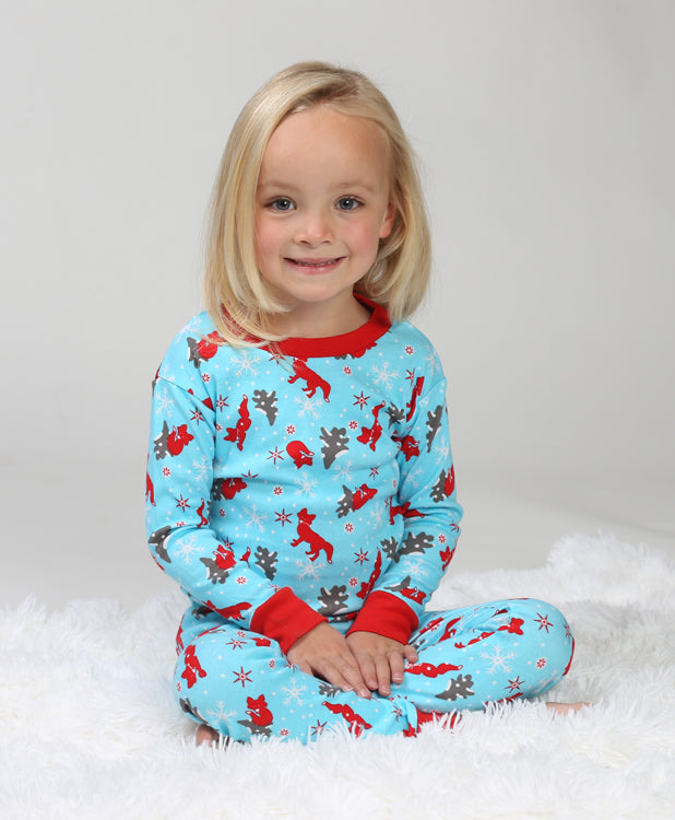 Winter Fox Organic Pajamas