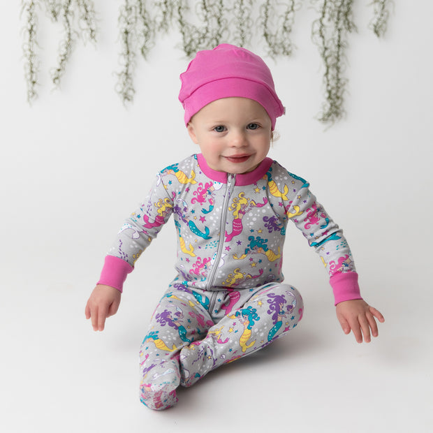 Mermaid Mamas Organic Cotton Footie