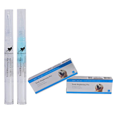 Pet Dental Stone Pen Toothbrush