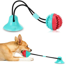 Load image into Gallery viewer, Pet Dog Toys Silicon Suction Cup Tug Dog Toy Dogs Push Ball Toy Pet Tooth Cleaning Dog Toothbrush For Puppy Large Dog Biting Toy