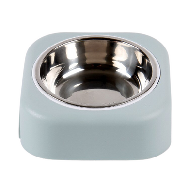15 Degrees Tilted Stainless Steel Non-slip Pet Bowl Feeder