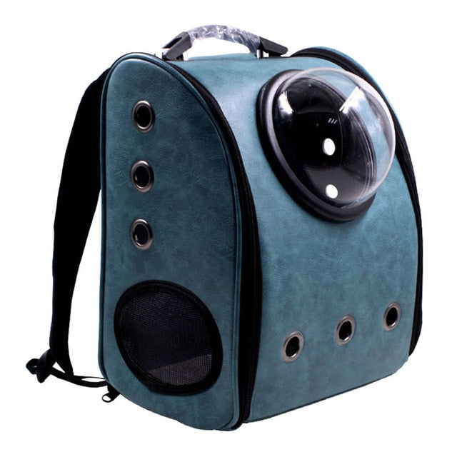 Pet Backpack Carrier Dog Shoulder Reflexivo Space Capsule Shaped Pet Travel Carrying Outside Travel Portable Bag Pet Products