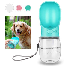 Load image into Gallery viewer, Portable Leak-Proof Pet Water Bottle