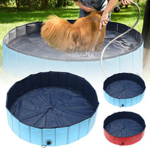 Load image into Gallery viewer, Portable and Foldable PVC Pet Bathtub Swimming Pool