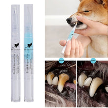 Load image into Gallery viewer, Pet Dental Stone Pen Toothbrush