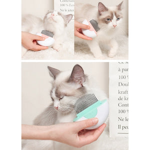 Dual-Purpose Shedding Brush Stainless Steel Pet Comb