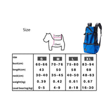 Load image into Gallery viewer, Adjustable and Breathable Pet Backpack Carrier