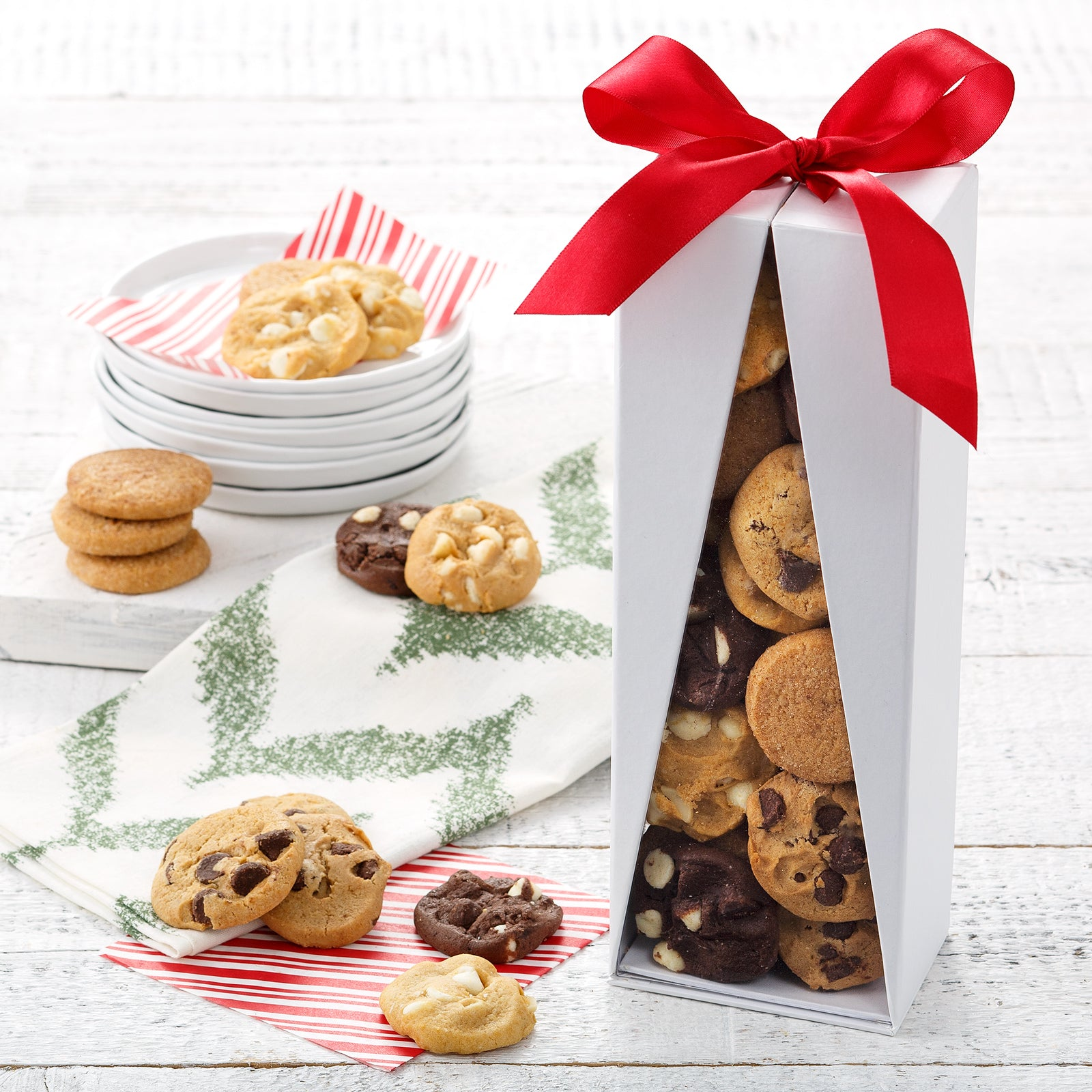 Mrs. Fields Tree of Treats 24 Nibblers® Bite-Sized Cookie Box